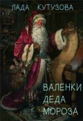 """Обложка книги """"Валенки Деда Мороза"""""""