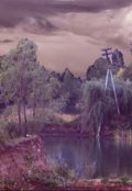"""Обложка книги """"Сны озера янтарного"""""""