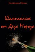 "Обложка книги ""Шампанское от Деда Мороза"""