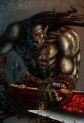 """Обложка книги """"Тёмный воин """""""
