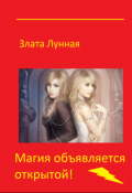 """Обложка книги """"Магия объявляется открытой!"""""""