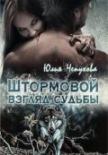 """Обложка книги """"Штормовой взгляд судьбы"""""""