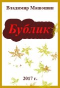 """Обложка книги """"Бублик"""""""