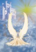 """Обложка книги """"Откровения воплощенного ангела."""""""