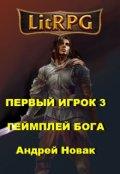 """Обложка книги """"Первый игрок 3. Геймплей бога"""""""