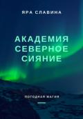 """Обложка книги """"Академия Северное сияние"""""""