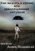 """Обложка книги """"Как выжить в кризис или революционная ситуация"""""""