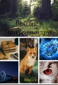 """Обложка книги """"Видение и потерянный друг"""""""