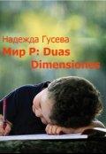 """Обложка книги """"Мир Р: Duas Dimensiones"""""""