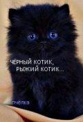 """Обложка книги """"Чёрный котик,рыжий котик..."""""""