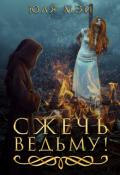 """Обложка книги """"Сжечь ведьму!"""""""