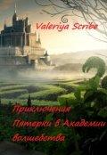 "Обложка книги ""Приключения Пятерки в Академии волшебства"""