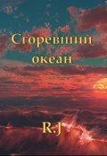 """Обложка книги """"Сгоревший океан"""""""