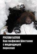 """Book cover """"Как геофизик Шестаков с медведицей переспал"""""""