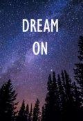 """Обложка книги """"Dream On"""""""