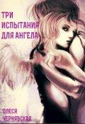 """Обложка книги """"Три испытания для ангела"""""""
