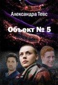 """Обложка книги """"Объект № 5"""""""