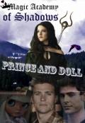 """Обложка книги """"Академия Теней. Принц и Кукла"""""""