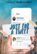 "Cubierta del libro ""Just for a tweet ;rdg"""