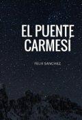 """Cubierta del libro """"El Puente Carmesí"""""""