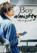 """Cubierta del libro """"Boy Almighty"""""""