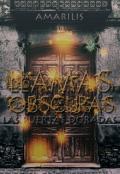 """Cubierta del libro """"Llamas Obscuras: Las Puertas Doradas"""""""