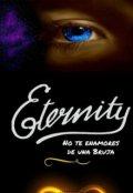 """Cubierta del libro """"Eternity"""""""