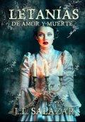 """Cubierta del libro """"Letanias De Amor Y Muerte"""""""
