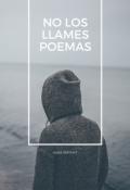 """Cubierta del libro """"No los llames poemas"""""""
