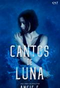 """Cubierta del libro """"Cantos de Luna"""""""