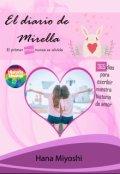 """Cubierta del libro """"El diario de Mirella"""""""