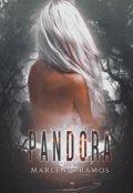 """Cubierta del libro """"Pandora"""""""