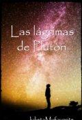 """Cubierta del libro """"Las lágrimas de Plutón"""""""