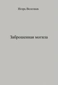 """Обложка книги """"Заброшенная могила"""""""