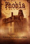 """Cubierta del libro """"Phobia"""""""