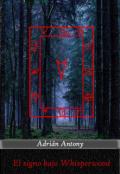 """Cubierta del libro """"El signo bajo Whisperwoods"""""""