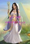 """Cubierta del libro """"La Leyenda de Isthar #2. Isthar Emperatriz"""""""