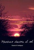 """Cubierta del libro """"Mientras duerme el sol"""""""