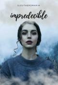 """Cubierta del libro """"Impredecible"""""""