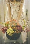 """Обложка книги """"Снаружи цветы, внутри море"""""""