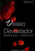 """Cubierta del libro """"Deseo Devastador"""""""