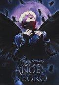 """Cubierta del libro """"Lágrimas de un ángel negro"""""""