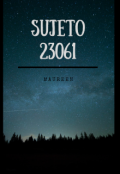 "Cubierta del libro ""Sujeto 23061"""