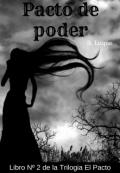 """Cubierta del libro """"Pacto de poder  (libro 2)"""""""