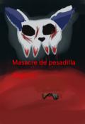 """Cubierta del libro """"Masacre de pesadilla """""""