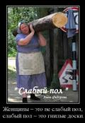 """Обложка книги """""""" Слабый пол """""""""""