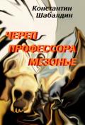 """Обложка книги """"Череп Профессора Мезонье"""""""