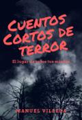 """Cubierta del libro """"Cuentos cortos de terror"""""""