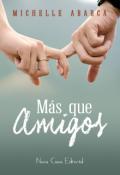 """Cubierta del libro """"Más que amigos"""""""