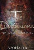"""Cubierta del libro """"The Dimensions (libro 2) """"The journey of the seven"""""""""""